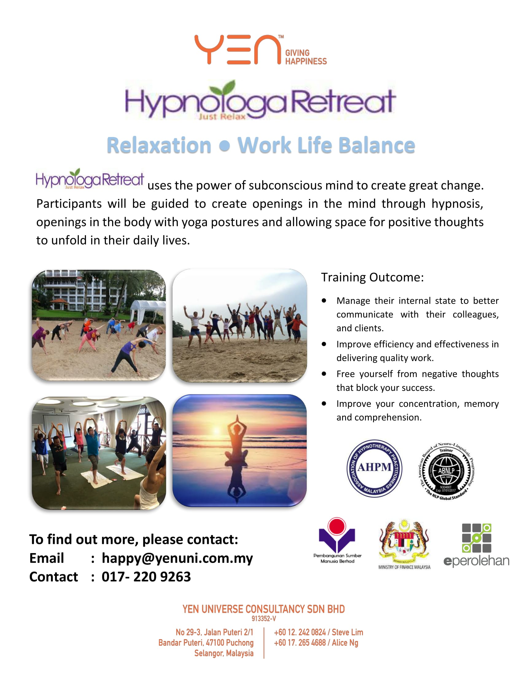 HypnoYoga Retreat