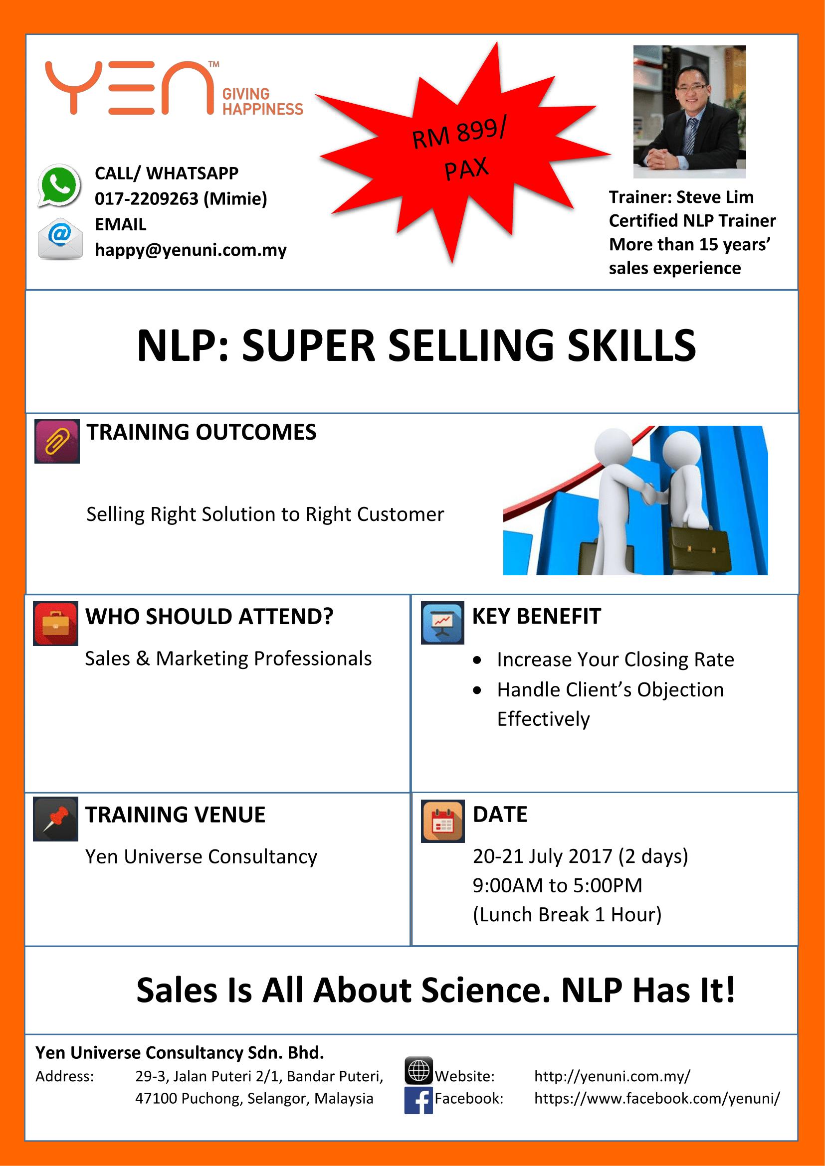 NLP SUPER SELLING SKILLS-11 July-1